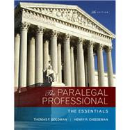 Paralegal Professional The Essentials, The