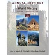 Annual Editions: World History, Volume 1: Prehistory to 1500,9780078050879