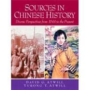 Sources in Chinese History Diverse Perspectives from 1644 to