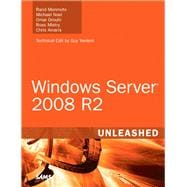 Windows Server 2008 R2 Unleashed, 9780672330926  