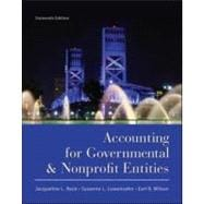 Accounting for Governmental and Nonprofit Entities, 9780078110931