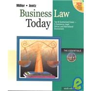Business Law Today : The Esssentials