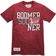 Oklahoma Sooners Cardinal One On One Sandblasted T-Shirt