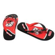 Georgia Bulldogs Youth Zori Flip Flops