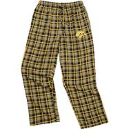Iowa Hawkeyes Black Empire Flannel Pants