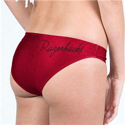 Arkansas Razorbacks Women's Team Color Swim Suit Bottom