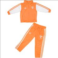 Tennessee Volunteers adidas Tenn Orange Toddler Full Zip Track Jacket and Pant Set