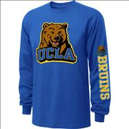 UCLA Bruins  Blue Youth Double Hit II Long Sleeve T-Shirt