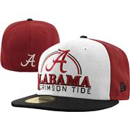 Alabama Crimson Tide New Era 59FIFTY Deluxe City Fitted Hat