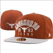 Texas Longhorns Word Knock 59Fifty Fitted Hat