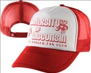 Wisconsin Badgers Red Wilber Foam Front Snapback Hat
