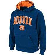 Auburn Tigers Arched Tackle Twill Hooded Sweatshirt