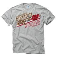 Minnesota Golden Gophers vs Wisconsin Badgers Stance Rivalry T-Shirt
