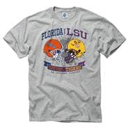 Florida Gators vs LSU Tigers Warfare Rivalry T-Shirt