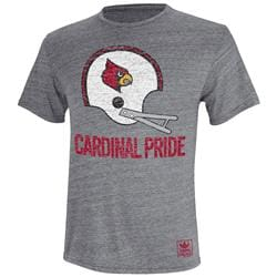 Louisville Cardinals adidas Originals Helmet Rush Tri-Blend T-Shirt