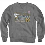 Notre Dame Fighting Irish 2013 BCS National Championship Game Open Field Crewneck Sweatshirt