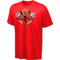 Louisville Cardinals 2013 Men's and Women's Basketball Final Four Teams T-Shirt