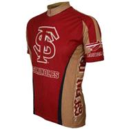 Florida State Seminoles Short Sleeve Cycling Jersey