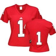 Rutgers Scarlet Knights Women's -No. 1- Replica Football Jersey