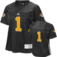 Missouri Tigers Women's adidas #1 Fashion Football Jersey