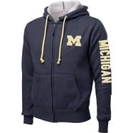 Michigan Wolverines Navy Tundra Thermal Full-Zip Jacket