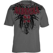 Nebraska Cornhuskers Charcoal Property of Tribal T-Shirt