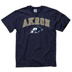 Akron Zips Navy Perennial II T-Shirt