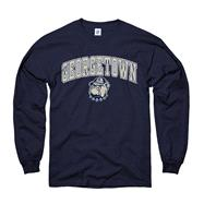 Georgetown Hoyas Navy Perennial II Long Sleeve T-Shirt
