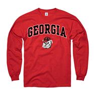 Georgia Bulldogs Red Perennial II Long Sleeve T-Shirt