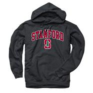 Stanford Cardinal Black Perennial II Hooded Sweatshirt
