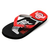 Ohio State Buckeyes Zori Flip Flops