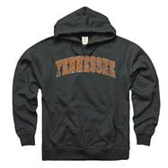 Tennessee Volunteers Heathered Black Tradition Ring Spun Hooded Sweatshirt