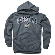 Georgetown Hoyas Dark Heather Perennial II Hooded Sweatshirt