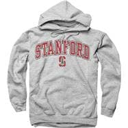 Stanford Cardinal Youth Grey Perennial II Hooded Sweatshirt