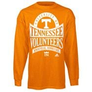 Tennessee Volunteers Light Orange adidas Mountain Top Long Sleeve T-Shirt