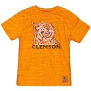 Clemson Tigers Heather Orange adidas Originals The Balboa Tri-Blend T-Shirt