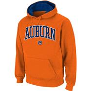 Auburn Tigers Orange Twill Arch Hooded Sweatshirt
