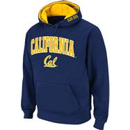 California Bears Navy Twill Tailgate Hooded Sweatshirt