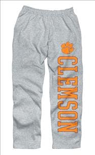 Clemson Tigers Grey Couch Island Sweatpants