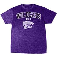 Kansas State Wildcats Purple Heather Arch T-Shirt