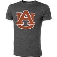 Auburn Tigers Charcoal Heather Mascot T-Shirt
