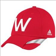 Wisconsin Badgers adidas Unrivaled Player Structured Flex Hat