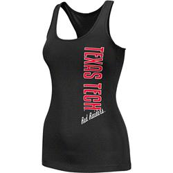 Texas Tech Red Raiders Black Women's Essential Fitness Tank Top