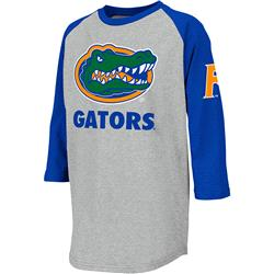 Florida Gators Youth Ball Park 3/4 Sleeve T-Shirt