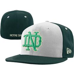 Notre Dame Fighting Irish New Era Kelly/Gold 59FIFTY Fitted Hat