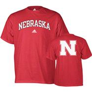 Nebraska Cornhuskers adidas Relentless T-Shirt