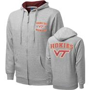 Virginia Tech Hokies Griffin Legend Thermal Lined Full-Zip Hooded Sweatshirt