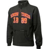 Clemson Tigers Charcoal Collegiate Crush 1/4 Zip Fleece Sweatshirt
