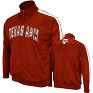 Texas A&M Aggies Maroon Pace Track Jacket