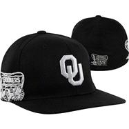 Oklahoma Sooners Black Titan Flex Hat